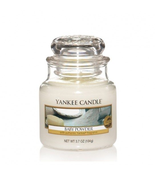 Small Jar Yankee Candle Baby Powder