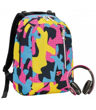 f7691e3f78 Backpack the double color camouflage seven