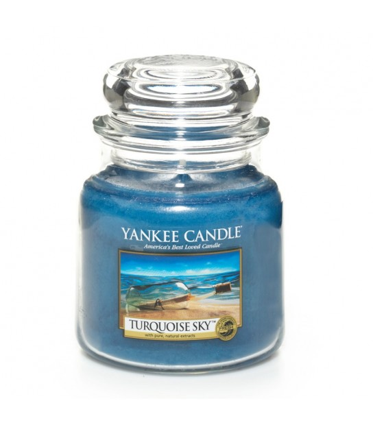Small Jar Yankee Candle Turquoise Sky