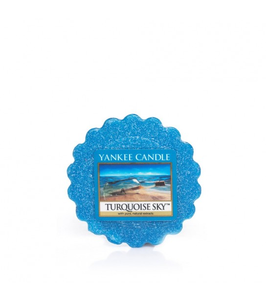 Tarts wax Yankee Candle Tourquoise Sky