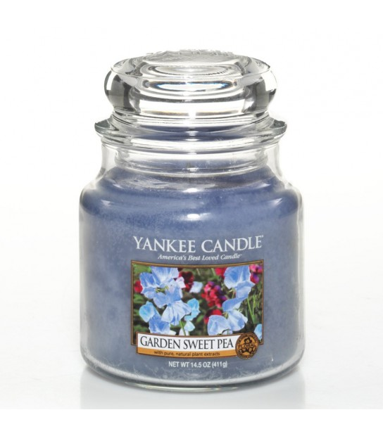 Medium Jar Yankee Candle Garden Sweet Pea