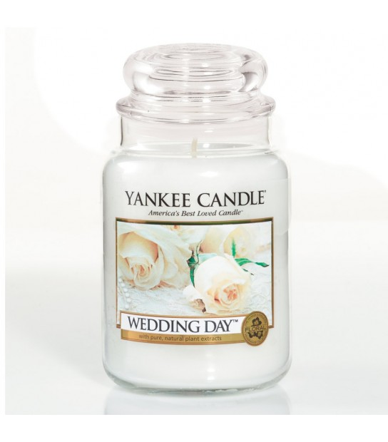 Large Jar Yankee Candle Wedding Day