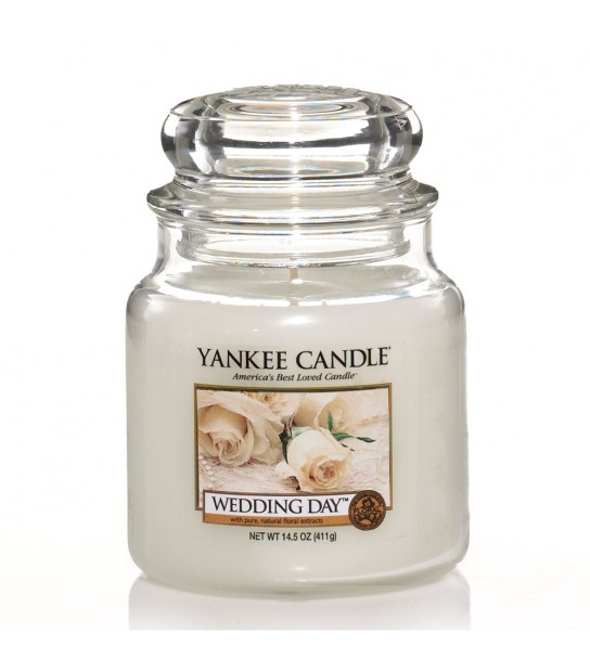 Medium Jar Yankee Candle Wedding Day