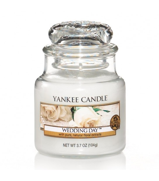 Small Jar Yankee Candle Wedding Day