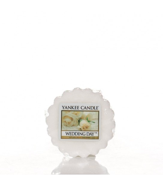 Tarts wax Yankee Candle Wedding Day