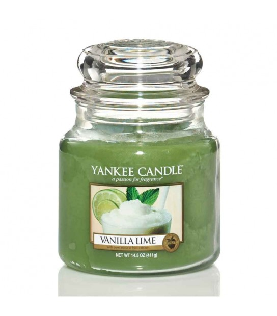 Vanilla Lime Giara Media Yankee Candle