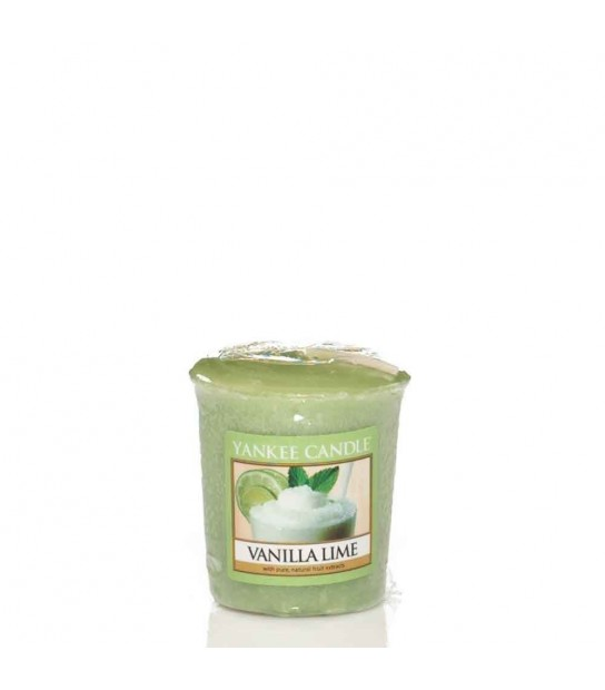 Vanilla Lime Sampler votive Yankee Candle