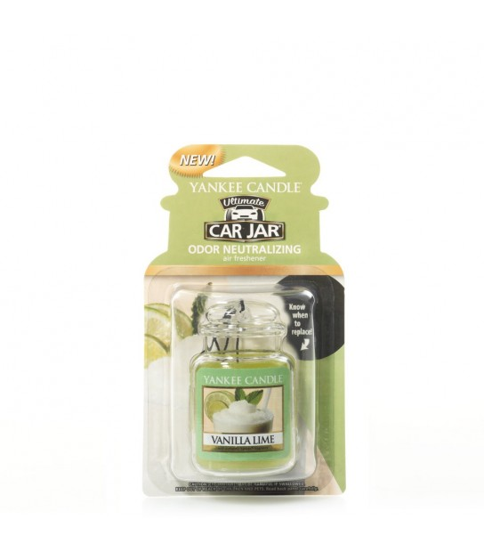 Vanilla Lime car jarby Yankee Candle