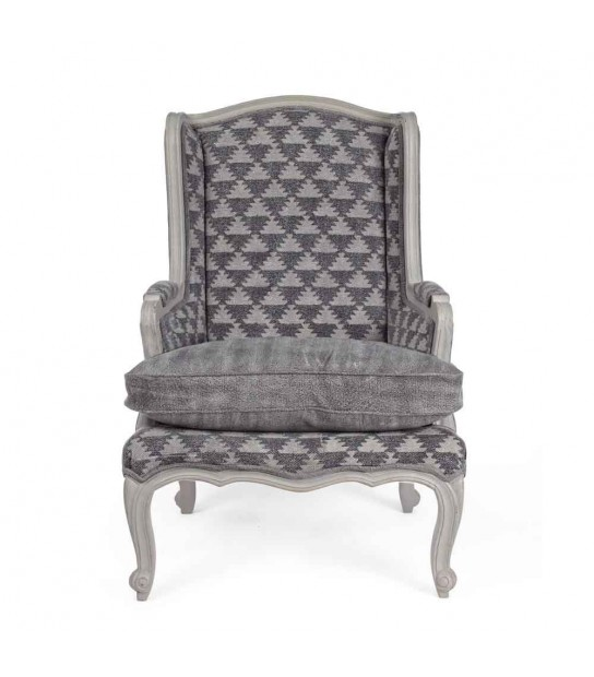 Charline Armchair in mango wood