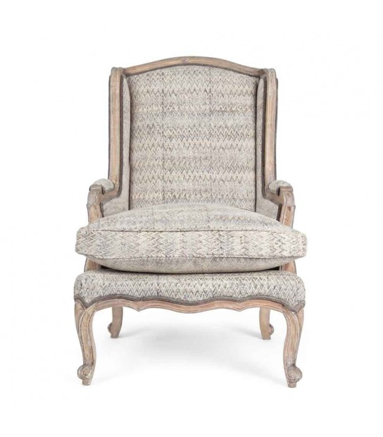 Elodie Armchair in mango wood