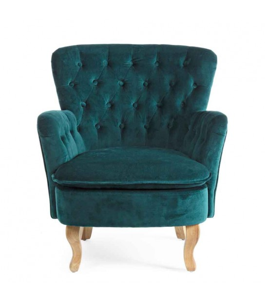 Orlins dark green Armchairs