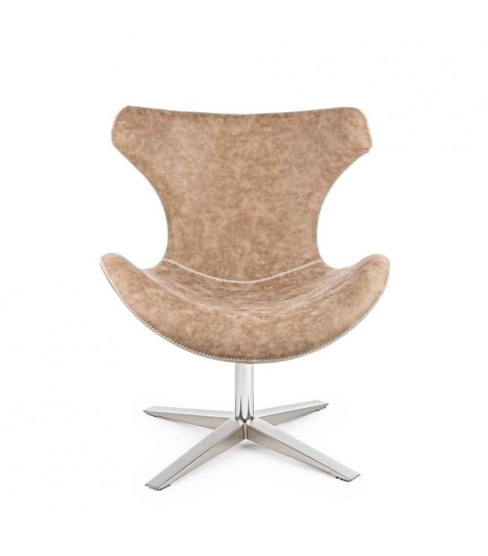 Gildas Light Brown Armchair