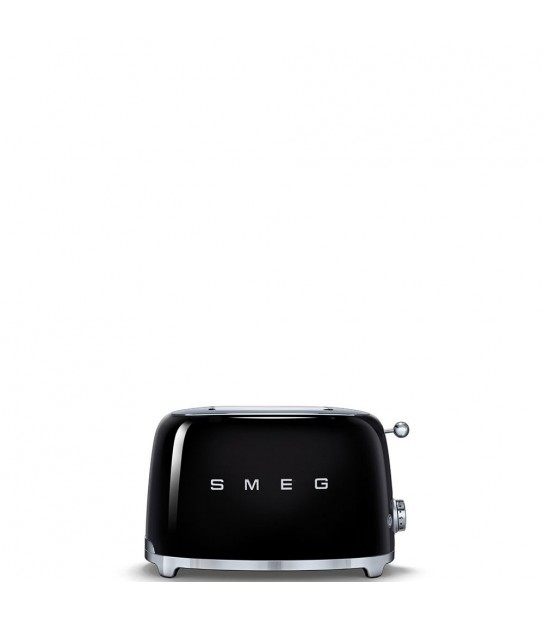 2 Slice Toaster Smeg Black