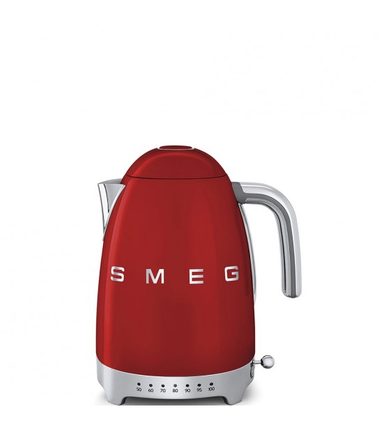 Variable Temperature Kettle red Smeg