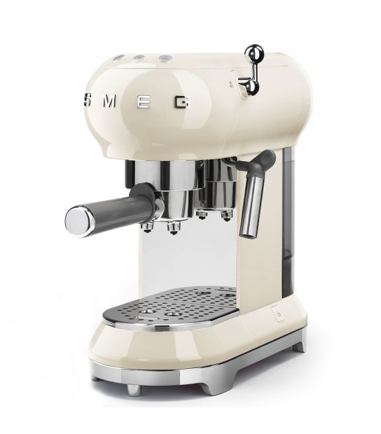 Coffee Machine Cream Smeg