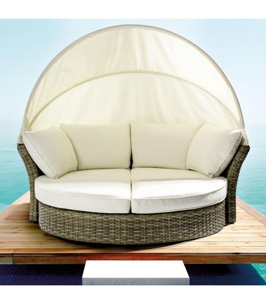 Daybed Lesly in intreccio poly