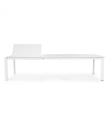 Konnor extendible table in white