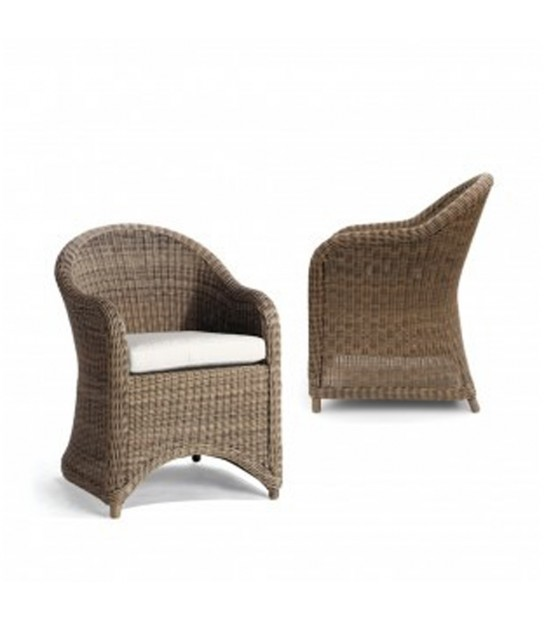 Poltrona Orlando in Wicker