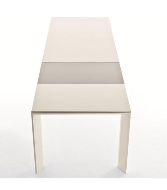Extendible Aluminium Table Grande Arche