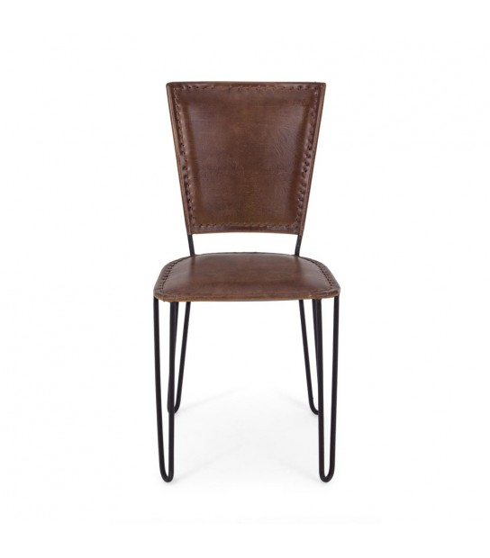 Ashanty Chair in real Leather