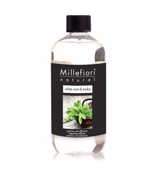 White Mint and Tonka 500 ml Refill