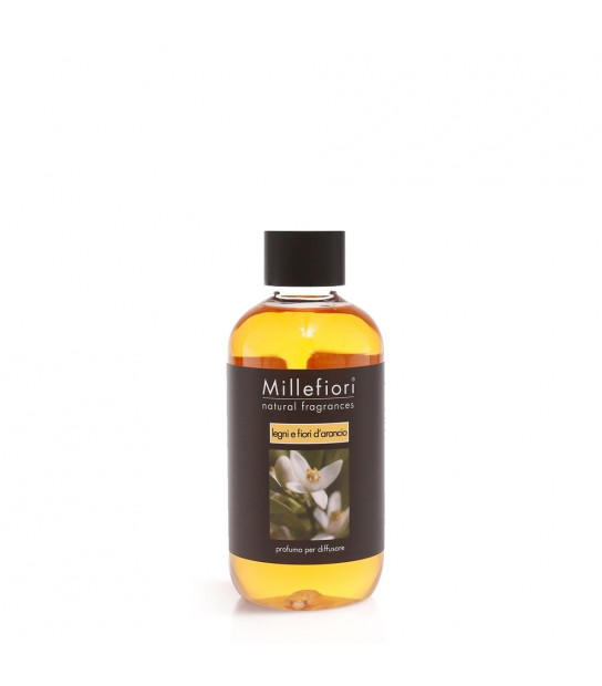 Wood and Orange flowers 250 ml refill