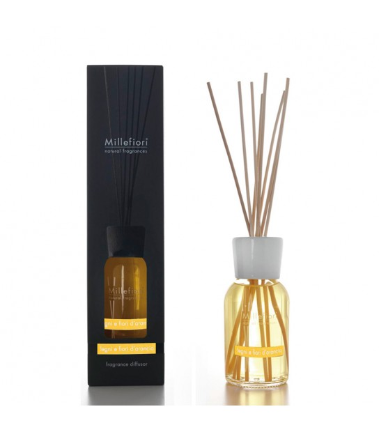 Wood and Orange flowers 250 ml Diffuser