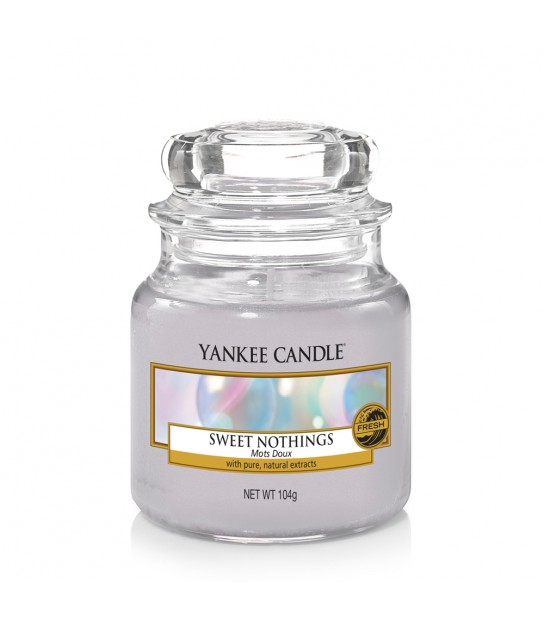 Sweet Nothing Small Jar Yankee Candle