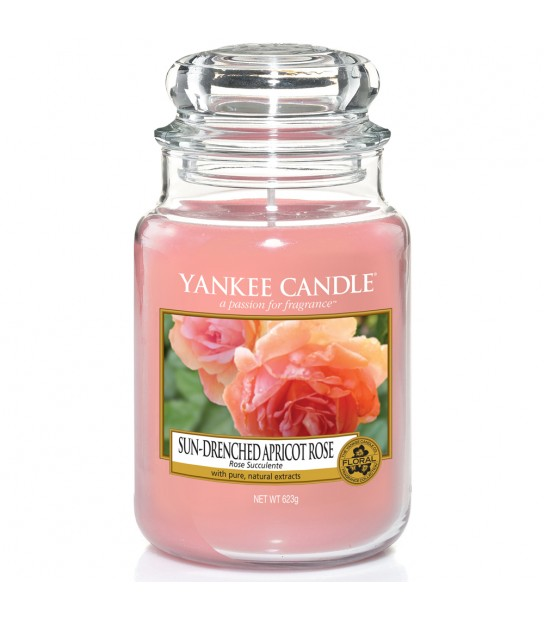 Sun Drenched Apricot rose Large Jar Yankee Candle