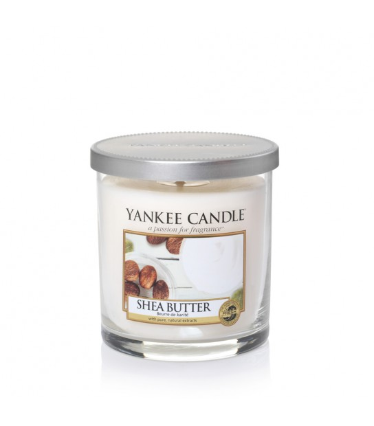 Shea Butter Small Pillar Yankee Candle