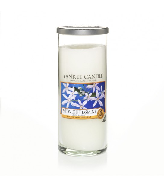 Midnight Jasmine Large Pillar Yankee Candle