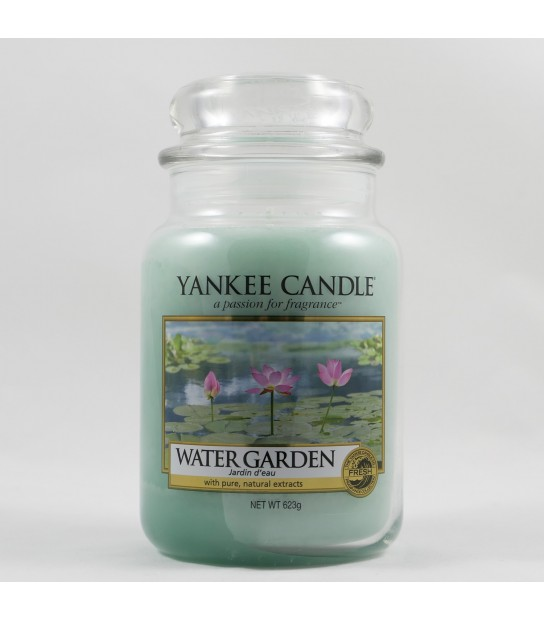 Water Garden Large Candle
