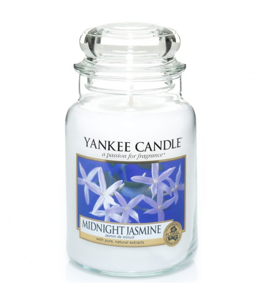 Large Jar Yankee Candle Midnight Jasmine