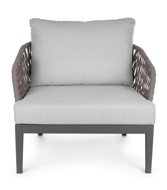 Pelican Charcoal Armchair with cushion