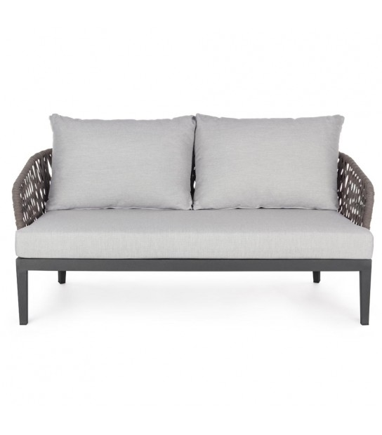 Pelican Charcoal Sofa 2-3 Seats with cushion