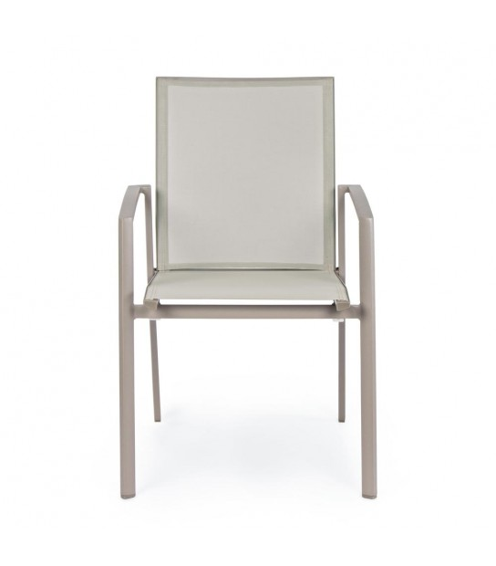 Taupe Konnor Chair with arms