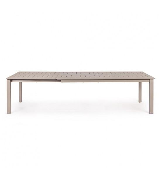 Konnor extendible table in Taupe