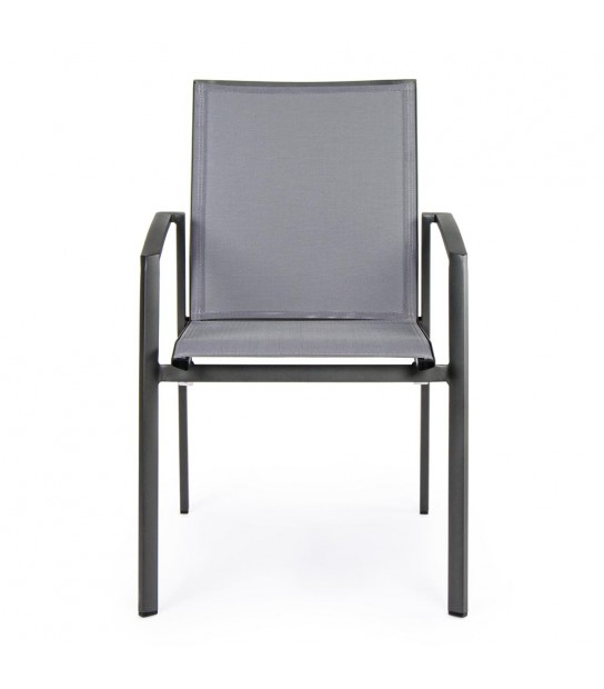Grey Konnor Chair with arms