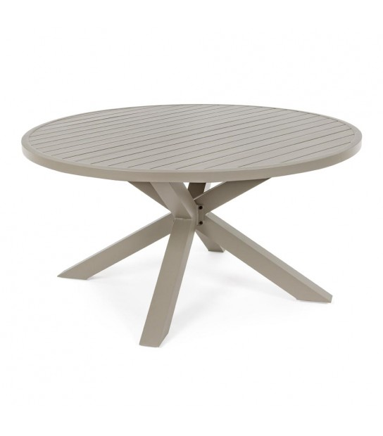 Skipper Taupe Table Diam. 160
