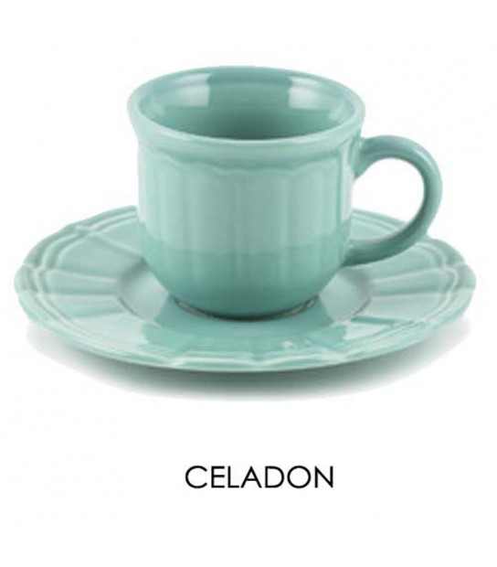 Coffee cup Celadon