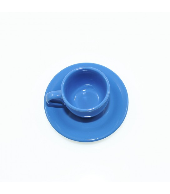 Stoneware Coffee cup in Mikonos Blue