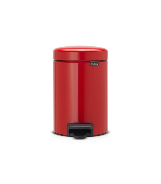 Pattumiera a pedale Newicon Passion Red 3 lt