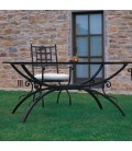 Iron and Wrought Iron Table