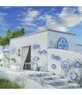 Santorini Collection in Melamine